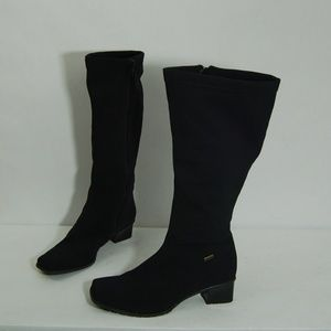 Ara Black Waterproof Gore-Tex Knee High Tall Boots